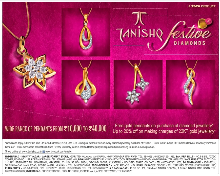 Flatoff.in - Offers & Discounts in Hyderabad: Tanishq ...