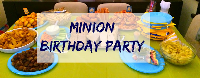 Ioanna's Notebook - Our Minion Birthday party with a DIY Pinata, free printables, food and dessert recipes