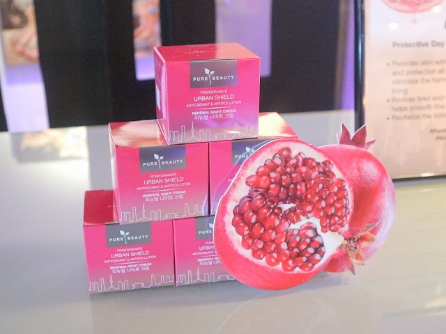 Pure Beauty Pomegranate Urban Shield Skin Care