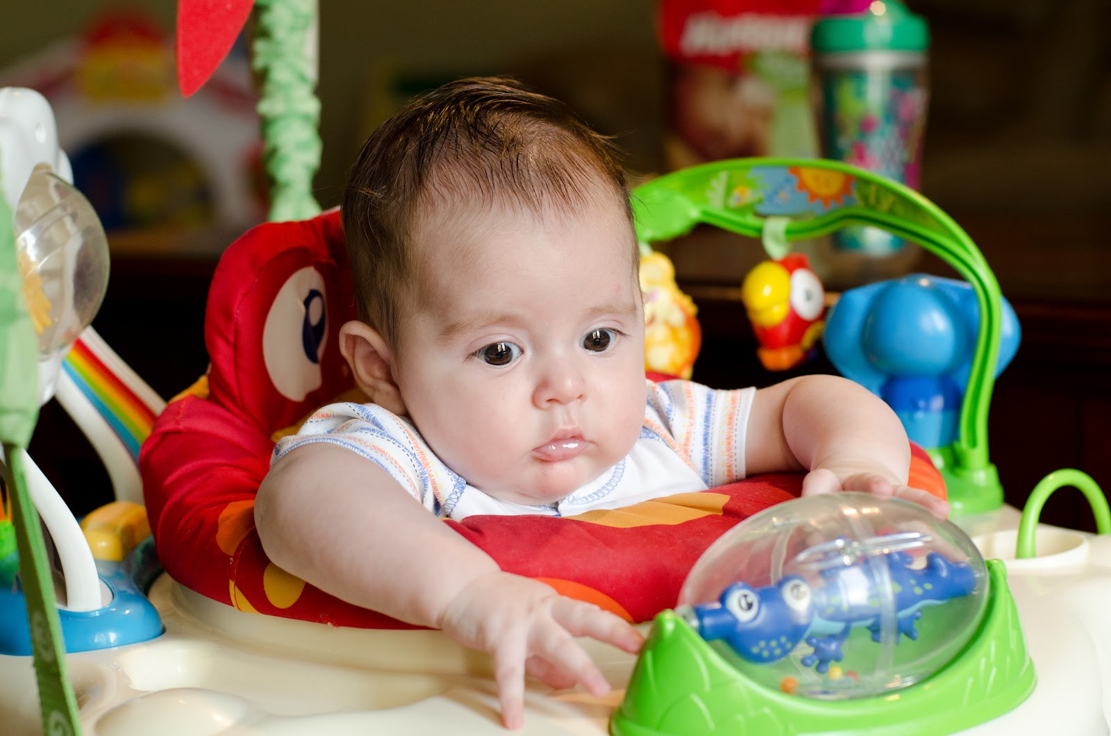 6 Month Old Baby Toys Blessings Miracles Andthoughts In Between Slow Down