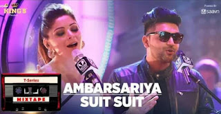 AMBARSARIYA + SUIT LYRICS: Latest mix from Tseries Mixtape in the voice of Kanika Kapoor & Guru Randhawa composed by Abhijit Vaghani. This one includes Ram Sampath & Munna Dhiman's Ambarsariya from Fukrey (2013) and Guru Randhawa, Rajat Nagpal & Arjun's Suit.