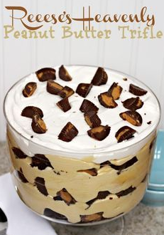 Reese's Heavenly Peanut Butter Trifle recipe