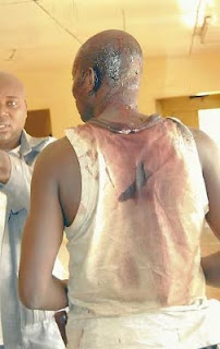 Graphic Photos: Smugglers And Custom Officials Clash In Ogun State