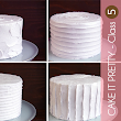 Cake It Pretty: How to create FOUR different textured buttercream finishes on a cake