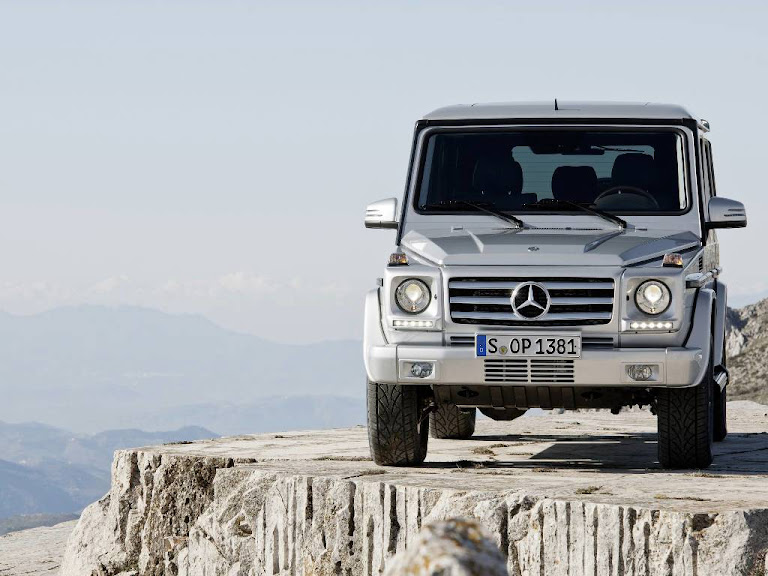 2013 Mercedes Benz G Class Normal Resolution HD Wallpaper 2