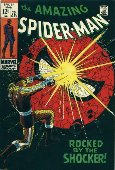 Amazing Spider-Man #72, the Shocker, All-time Top Ten John Romita Spider-Man Covers