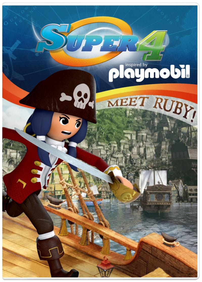 Inspired by Savannah: PLAYMOBIL Super 4: Meet Ruby! Now