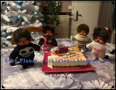 anniversaire Kiki Planet, gâteau,monchhichi, recette, kiki, kiki de tous les kiki