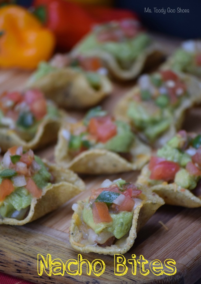 Nacho Bites - These take only minutes to assemble, and there is nacho-goodness in every bite! | Ms. Toody Goo Shoes