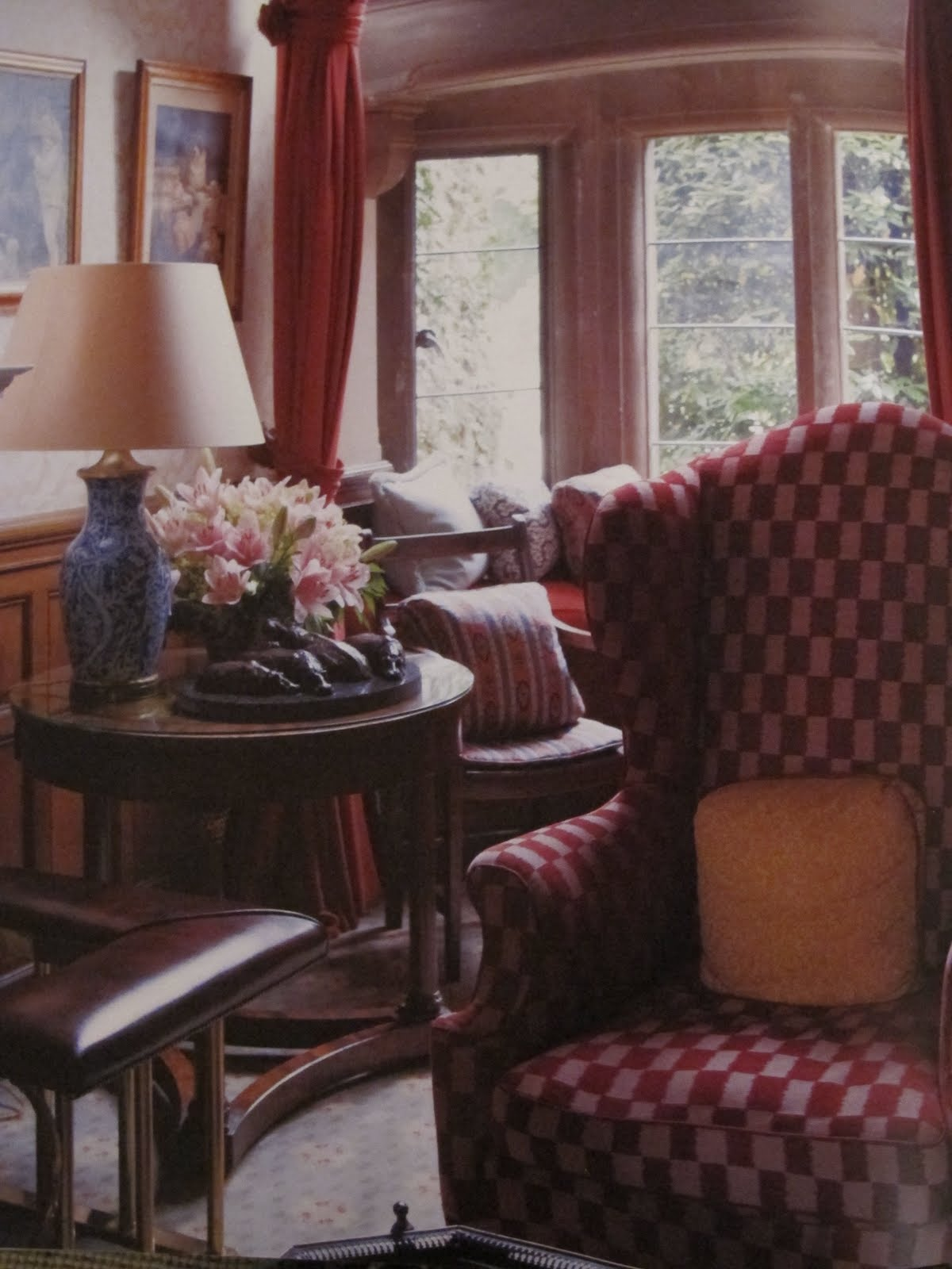 English Sitting Rooms: Ciao Domenica: England's Hideaways
