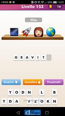 Emoji Quiz soluzione livello 153