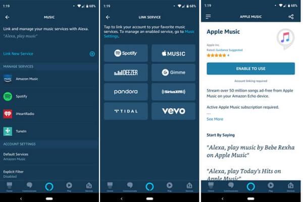 كيفية ربط Apple Music بـ Amazon Echo وتعيينه كخدمة افتراضية