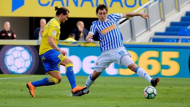 Las Palmas 0x1 Real Sociedad – Tranquilo, tranquilo…