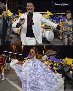 Desfile Inaugural del Carnaval. Uruguay. 2017 Comparsa Tronar de Tambores
