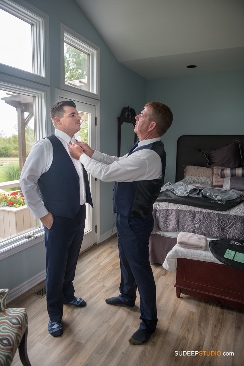 Groom Getting Ready by SudeepStudio.com Ann Arbor Wedding Photographer