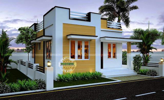 THOUGHTSKOTO Mini Box Type House Interior Design Html on