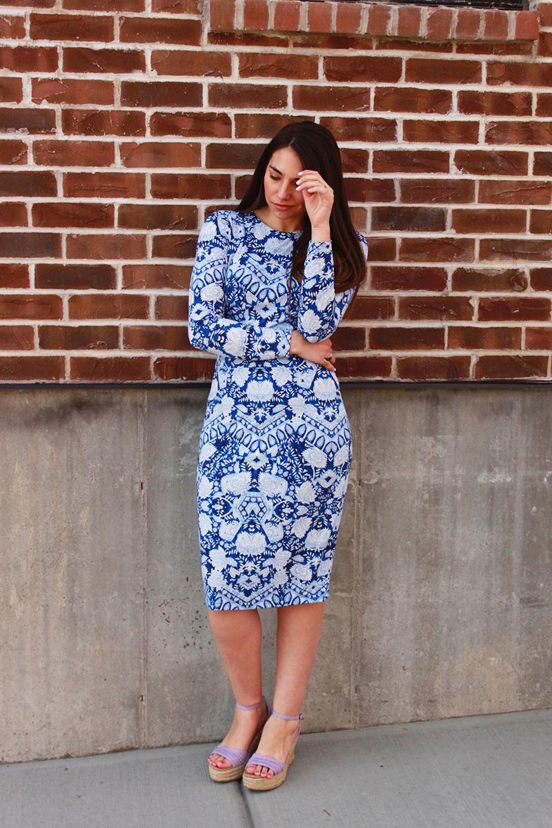 china plate dress