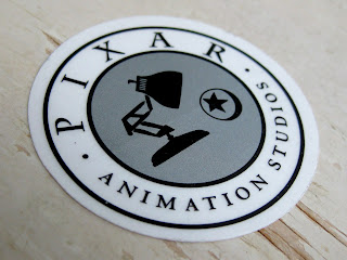 pixar studio store sticker