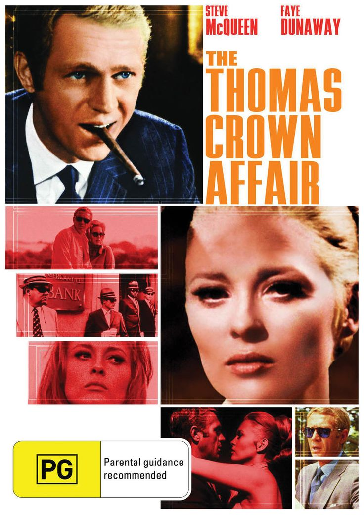Resultado de imagen de the thomas crown affair 1968
