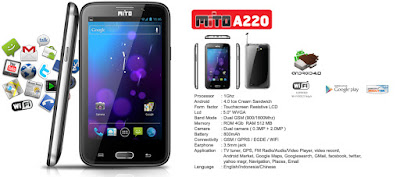 Harga HP Mito Android dibawah 1 Juta - HP Mito A220