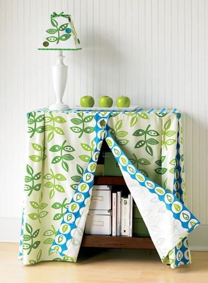 decorar un mueble con tela