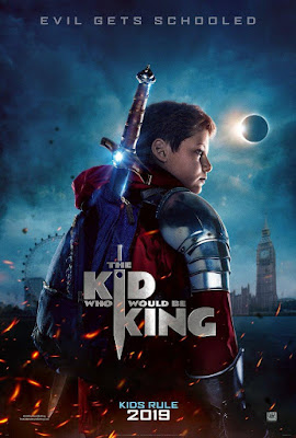 The Kid Who Would Be King 2019 DVD R1 NTSC Latino