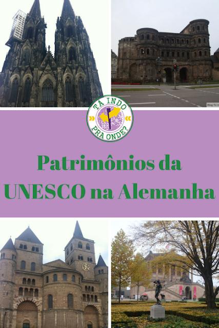 Patrimônios da UNESCO na Alemnha - Catedral de Colônia, resquícios romanos em Trier e Ilha dos Museus em Berlim