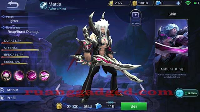 Mengenal Martis, Hero Fighter Baru Mobile Legends
