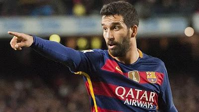 Arda Turan thể hiện khá xuất sắc trong vai trò đóng thế Messi