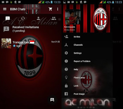 Preview BBM AC Milan - Ardhana Network