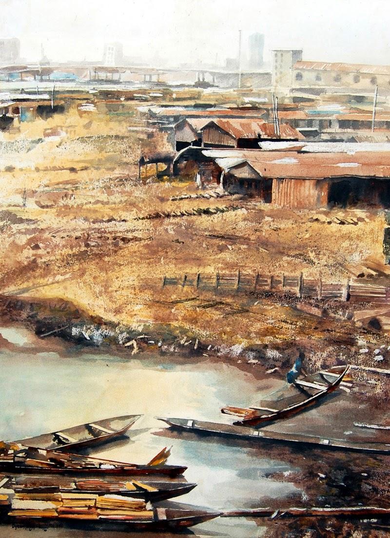 Paintings by Oyewole Olufemi Ayodeji from Nigeria.