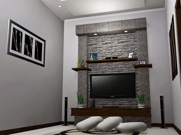 Desain ruang tamu lesehan minimalis