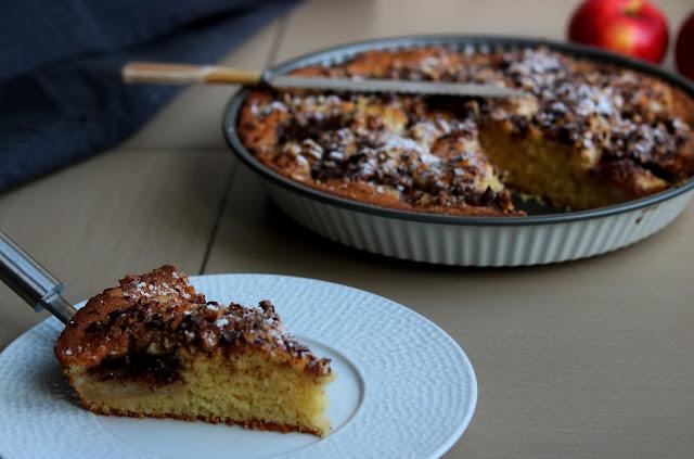 Gâteau pomme snoix chocolat