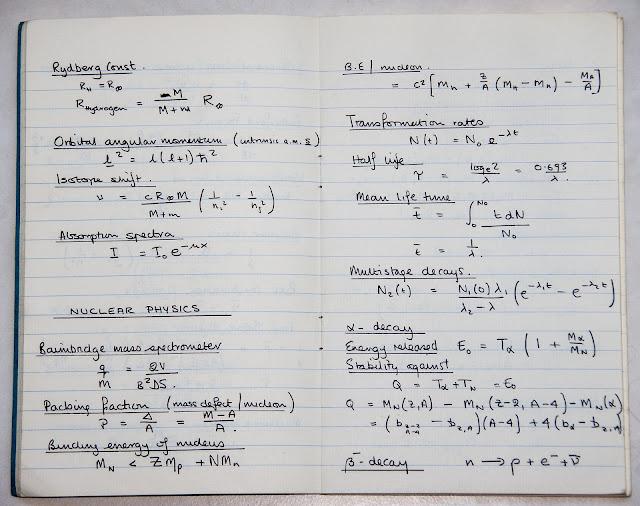 Integrais ou outras fórmulas da Física