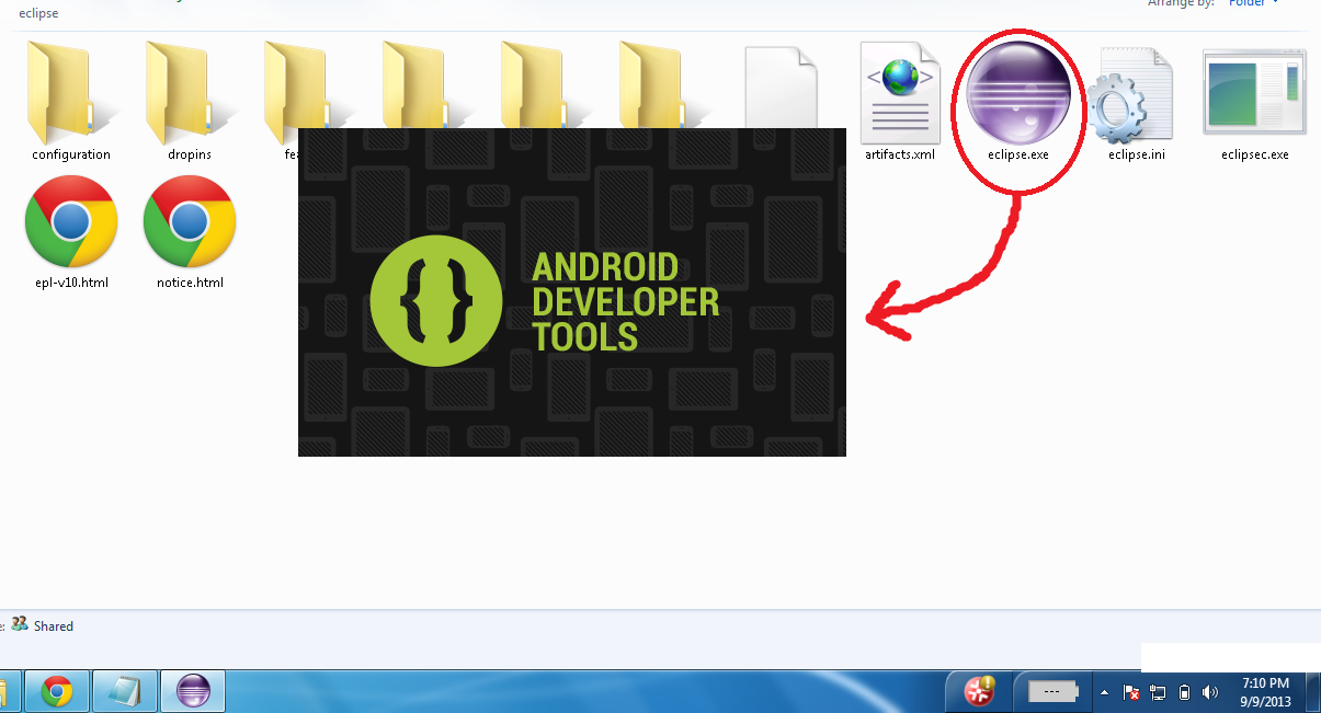 Techno Inside: Android ADT-Bundle Installation on Windows