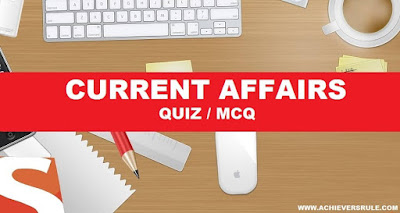 Daily Current Affairs MCQ - 26th December 2016