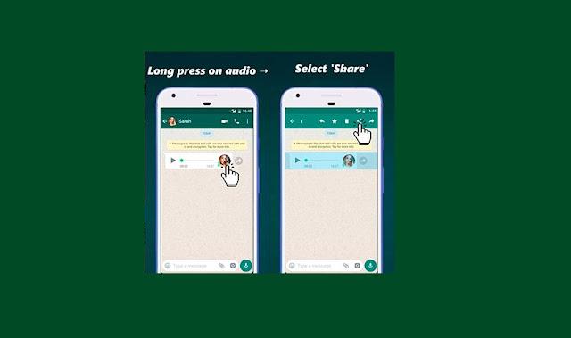 convertir de audio a texto en Whatsapp