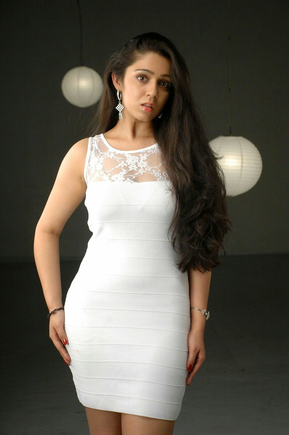 Charmy Kaur Smile Hot - High Resolution Pictures-5538