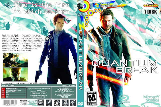 Capa Quantum Break PC