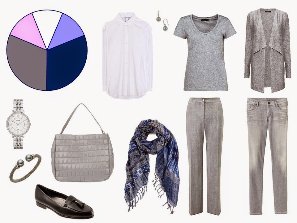 How to build a capsule wardrobe - step 5 - Accessories