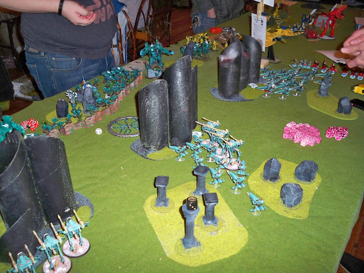 Pictures of the Armies at the 2103 DaBoyz GT