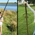 Niña halla una espada en el lago donde el rey Arturo lanzó su legendaria arma