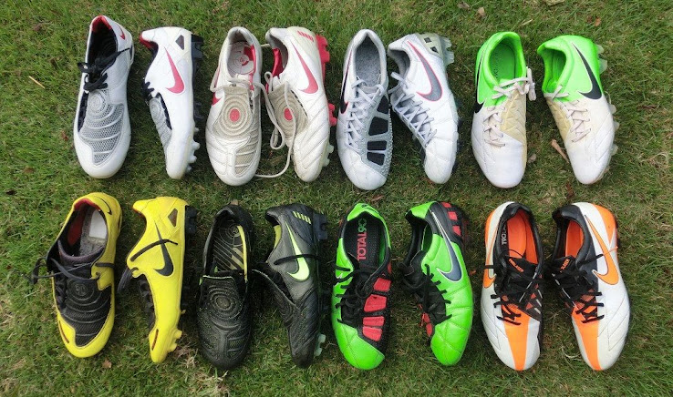 97fe41ade9399 The Nike Total 90 Laser IV football boots should be the last boot of the Total  90 boot line as Nike replaced by the silo with the Nike Hypervenom line.