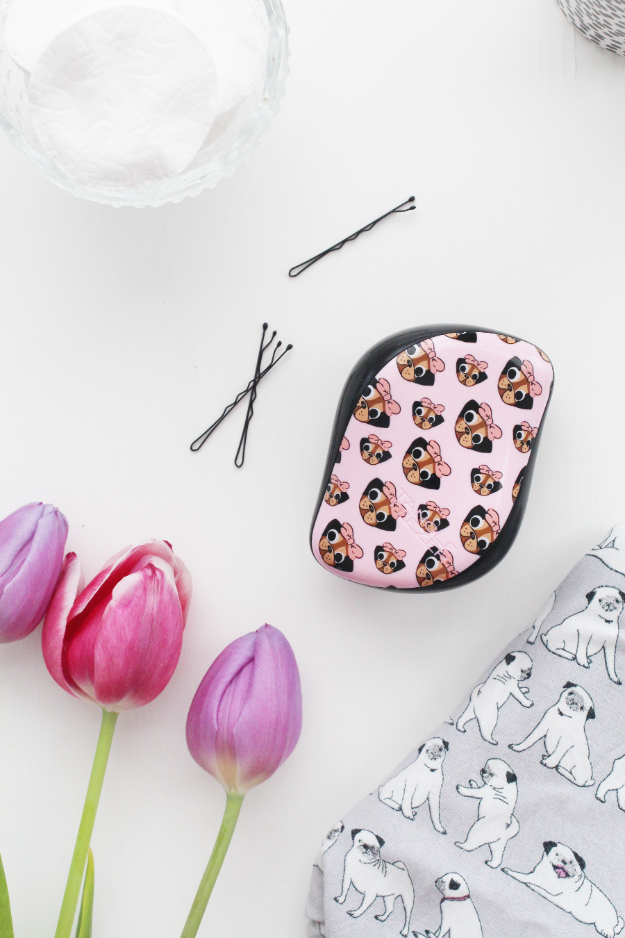 Tangle Teezer Pug Love Compact Styler