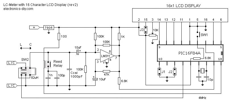 Electronic Circuits, Schematics Diagram, Free Electronics ... on variable resistor schematic, potentiometer schematic, digital voltmeter schematic, multimeter schematic,