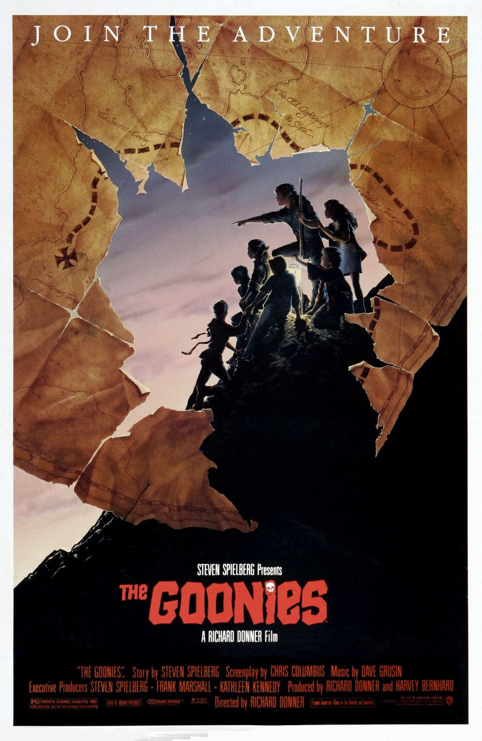 the geeky nerfherder movie poster art the goonies 1985