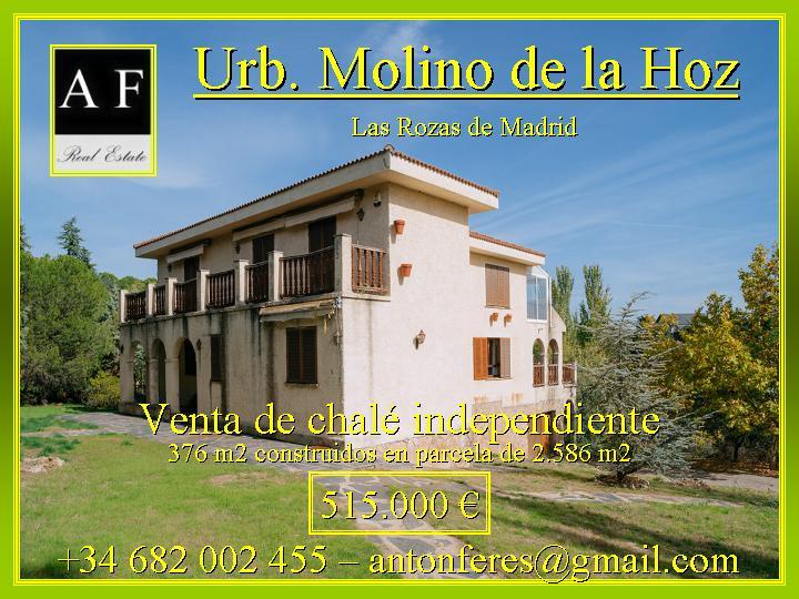Casas en molino de la hoz - Molino de la hoz ...
