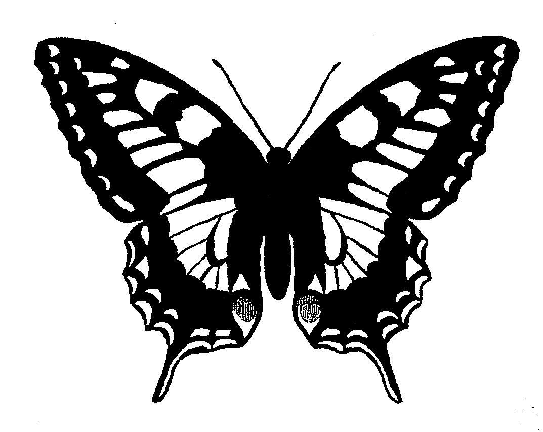 Digital Stamp Design: Printable Butterfly Digital Download ...