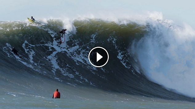 This Might Be the Prettiest Footage of Surfing Giant Maverick s We ve Ever Seen - The Inertia