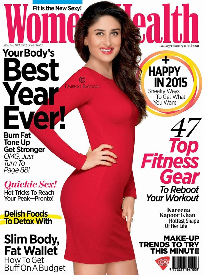 Gorgeous Kareena Kapoor Khan for Women's Health Magazine Cover Shoot